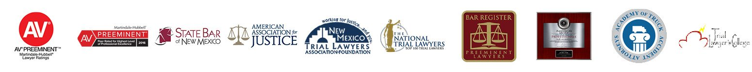 Awards & Memberships logo banner